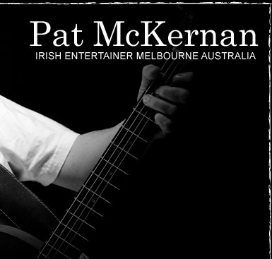 Pat McKernan, performer, musician, writer of Irish ballads and classic Celtic tunes, Melbourne Victoria Australia